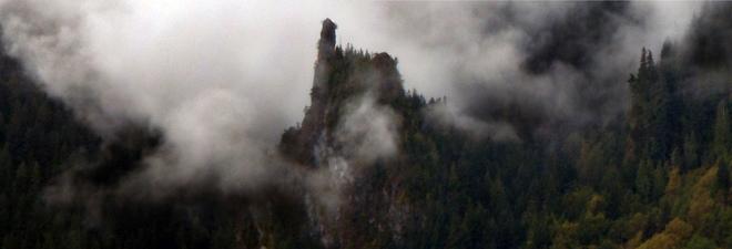 Morning Mist Squamish, British Columbia Canada