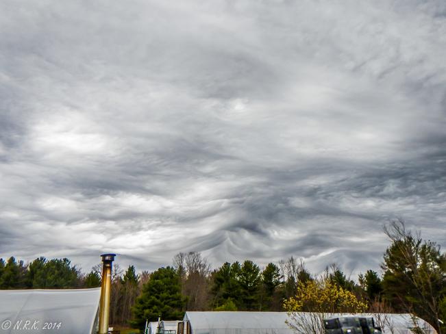 Creepy clouds 1 Brackenrig, Ontario Canada