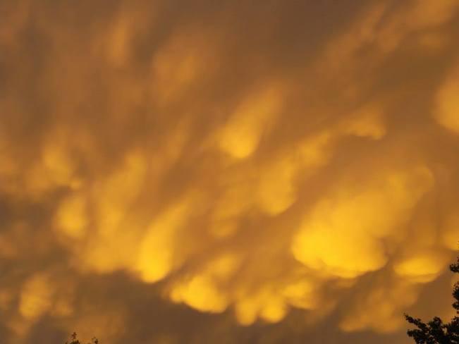 clouds Keewatin, Ontario Canada