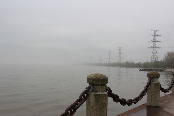 Foggy Day Burlington, Ontario Canada