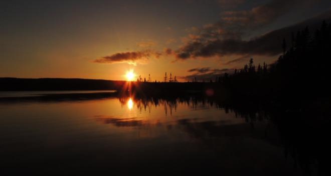 Sunset St. John's, Newfoundland and Labrador Canada