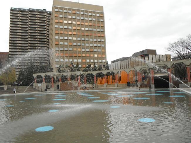 City Center Water Park Calgary, AB