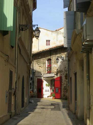 Street Scene from Arles France Sooke, BC