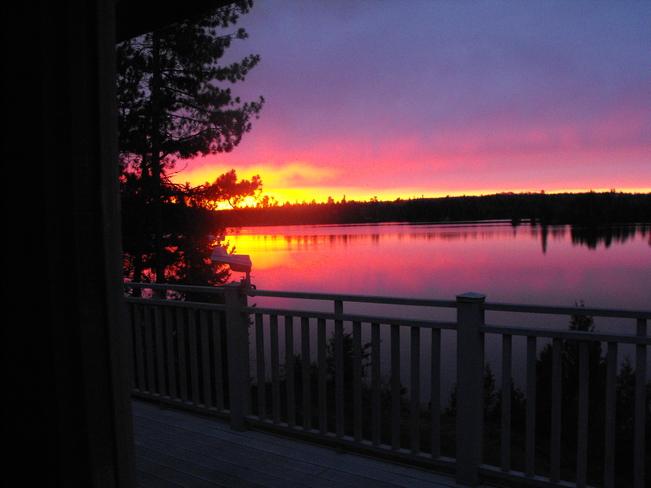 and again, sunrise! Chapleau, ON