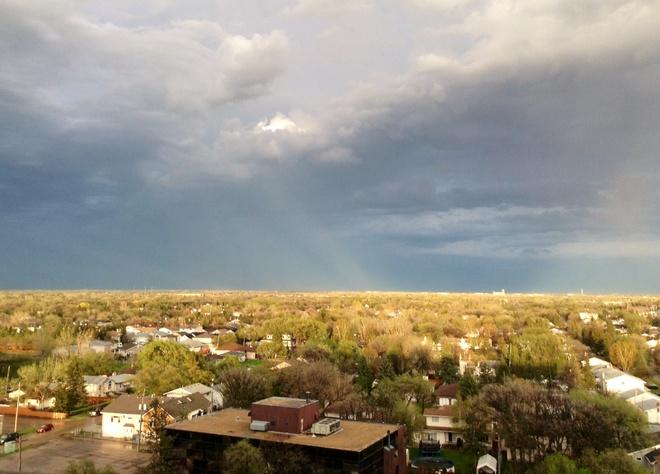 Thunderstorm over Winnipeg Winnipeg