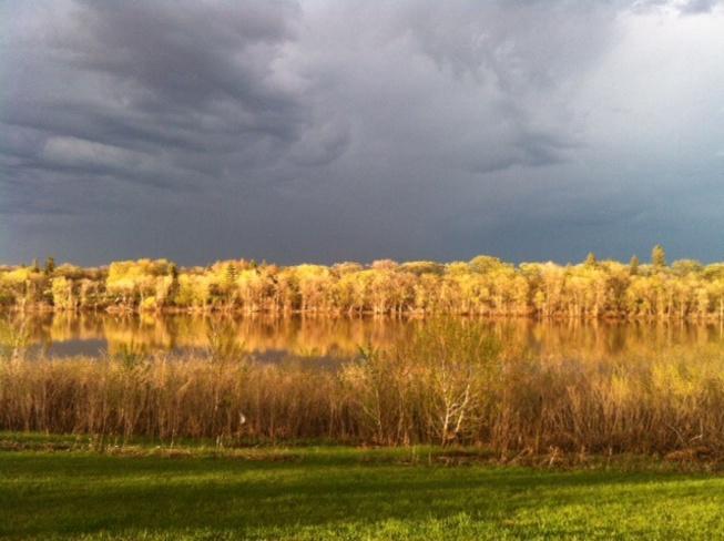 colours of thunder Winnipeg, Manitoba Canada
