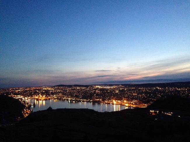 Signal hill view St. John's, Newfoundland and Labrador Canada