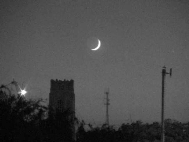 Moon over Windsor Windsor ON