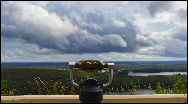 Fire Tower Lookout, Elliot Lake.