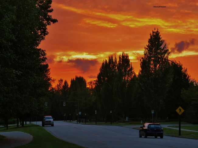 Sunset Road Burnaby, BC