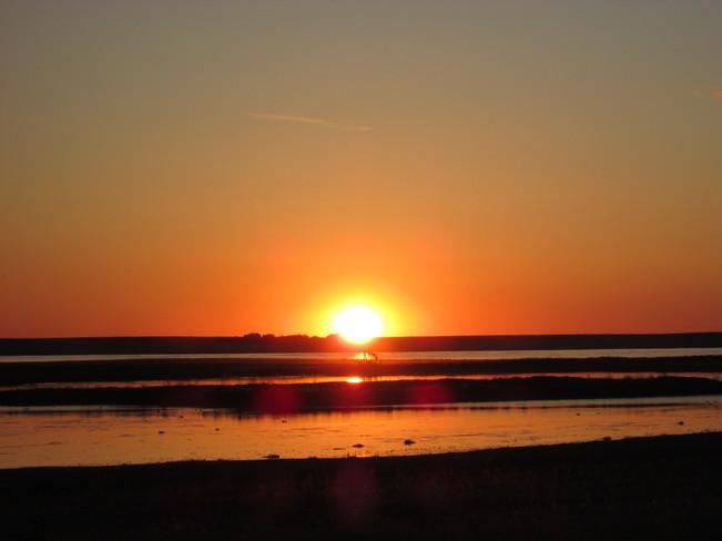 Rosana Road Sunset Glidden, Saskatchewan