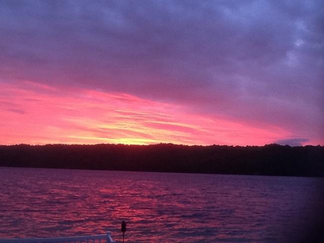 Sunset in Westport, Ontario Westport, ON