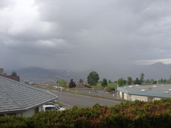Stormy Kamloops West End, British Columbia Canada