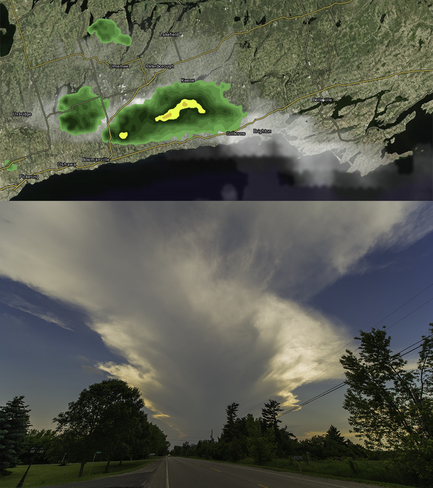 Thunderstorm Bloomfield, ON