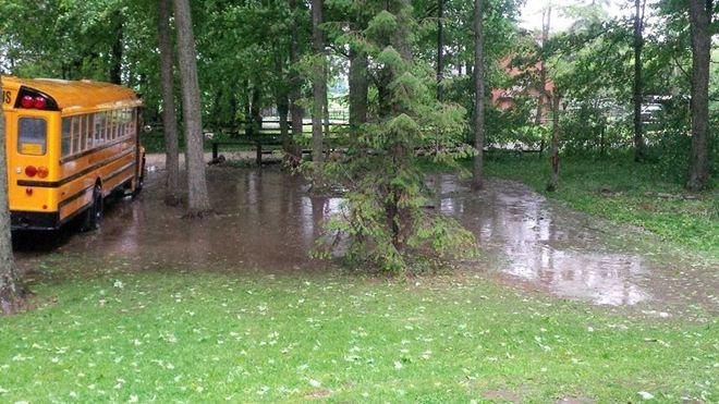 bad storm in amaranth Amaranth, Ontario