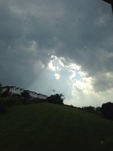clouds over Georgetown! Georgetown, Ontario Canada