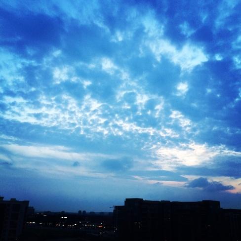 clouds Thornhill, Ontario Canada