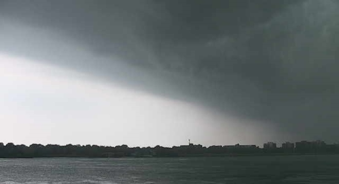 Storm front Windsor, ON