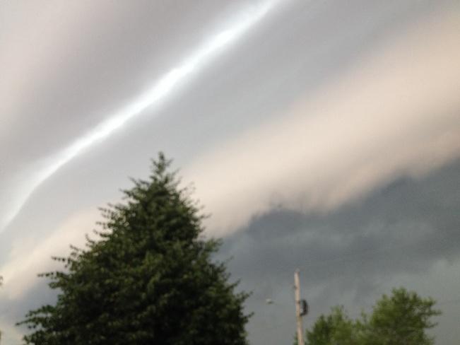 Approaching Storm Blenheim, Ontario Canada