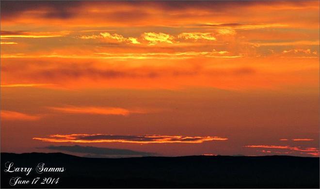 """Green Bay Sunset"" South Brook, Newfoundland and Labrador"