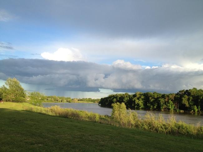 more rain ! Winnipeg, Manitoba Canada