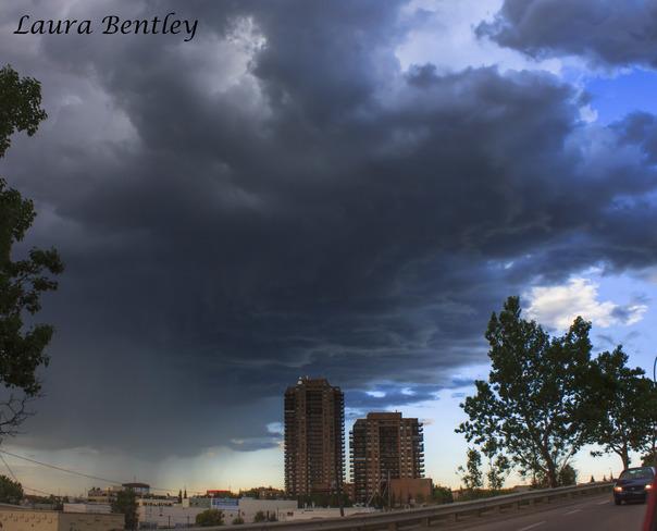 Storm over Calgary, Alberta June 20, 2014 Calgary, AB