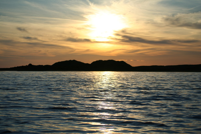 PEI sunset St. Peters Lake, Lot 39, PE