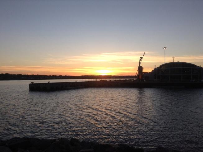 Sunset on Monday Sydney, Nova Scotia Canada