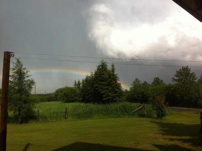 tornado warning Iroquois Falls, Ontario Canada