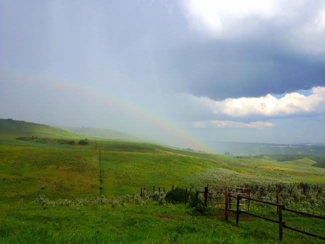 Foothills Rainbow Calgary, Alberta Canada
