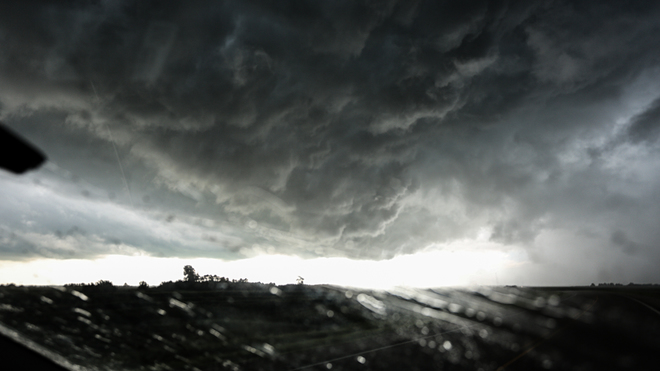 Thunderstorm between Rosetown and Saskatoon, Saskatchewan Saskatoon, SK