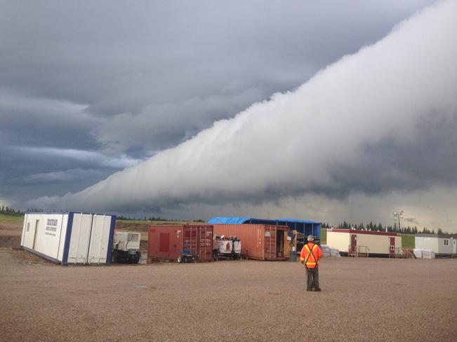 Rolling thunder Fort McKay 174, Alberta Canada