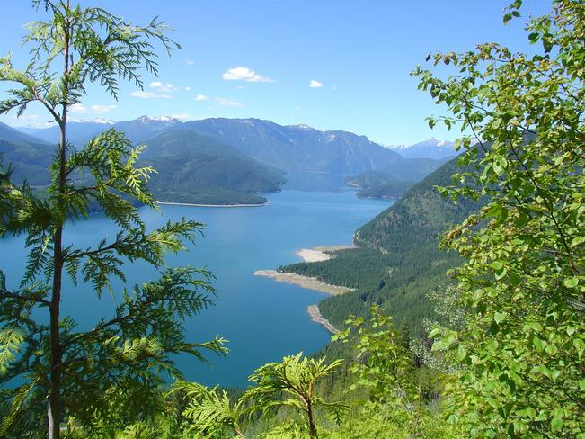 Duncan Lake Kaslo, British Columbia Canada