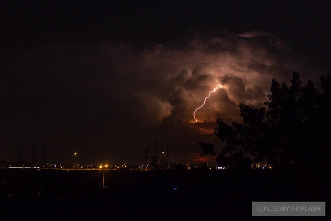 Lightning Over New York State Richmond Hill, ON