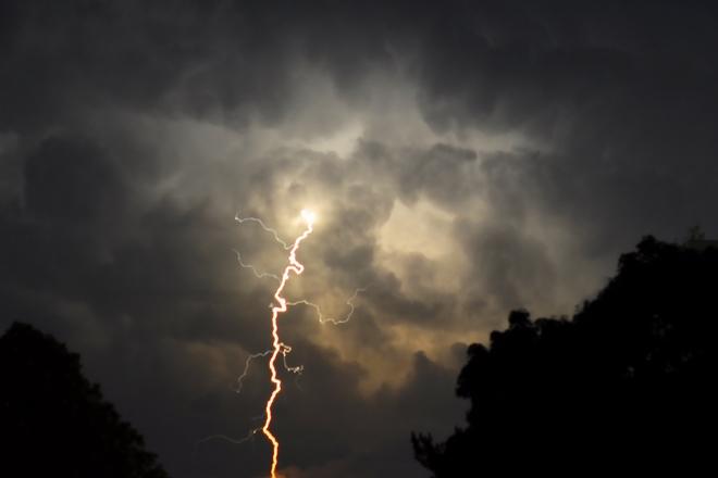 Lightning over Lake Ontario Mississauga, ON Canada