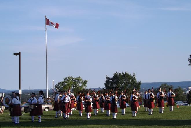 PIPE BAND Thunder Bay, ON