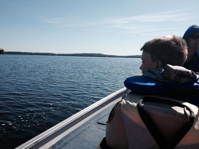 Fishing Weather! Ignace, Ontario Canada