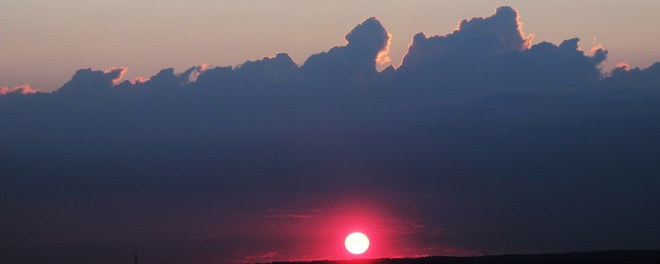 PINK BEAUTIFUL Sunset Ottawa, Ontario Canada