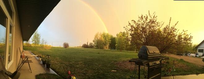 rainbow Rimbey, Alberta Canada