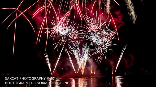 Trenton, ON - Fireworks 2014 Trenton, Quinte West, ON