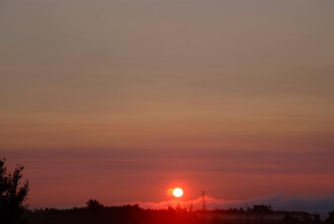 5:45 A.M. Morning On the Prairies Leduc, AB