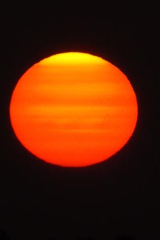 Red Sunrise Pembroke, Ontario Canada