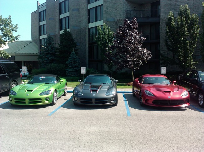 Summer Sport Cars Niagara On The Lake,Ontario Canada