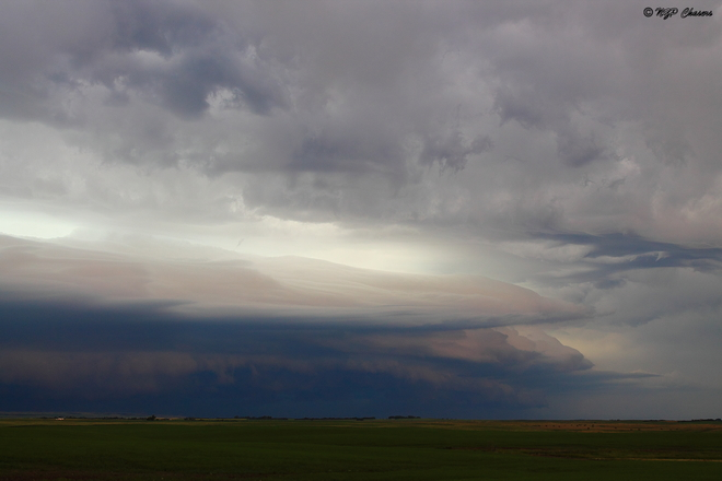 Saskatchewan Shelf Clouds Weyburn, SK