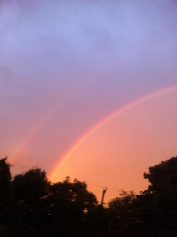 Double Rainbow Goderich, Ontario Canada
