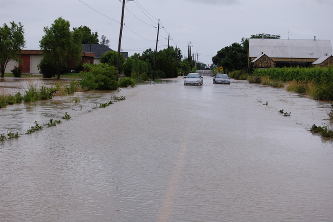 Flooding St. Catharines, ON