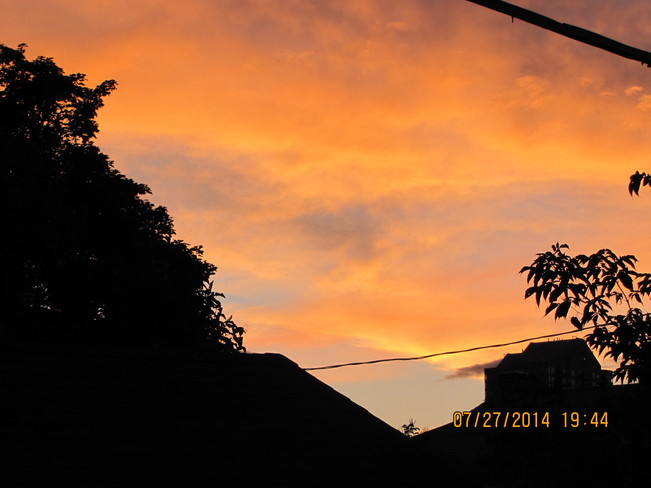 July Evening Sky Ottawa, ON