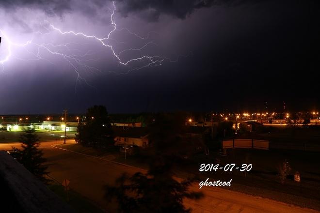 Lightning Swan Hills, AB