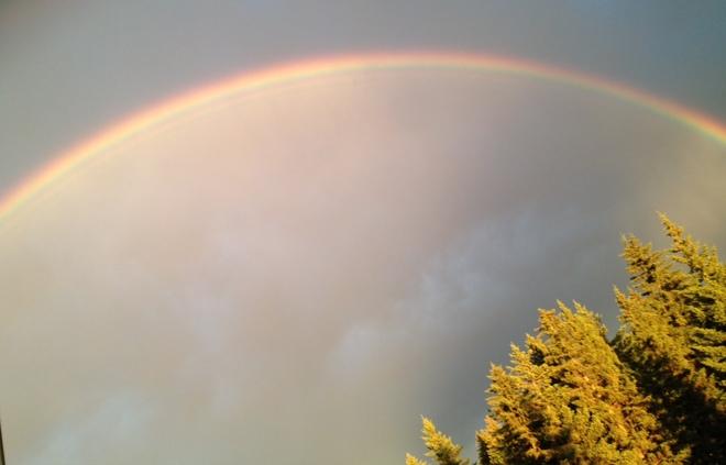 Rainbow over Calgary Calgary, AB