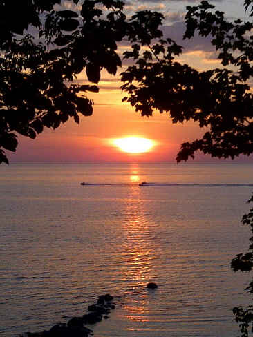 Beautiful sunset Lambton Shores, ON